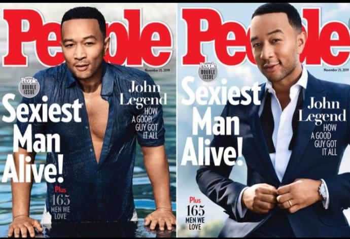 Do you think John Legend was the right choice for sexiest man alive of 2019?
