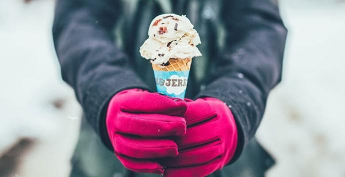 Do you eat ICE CREAM during the winter?