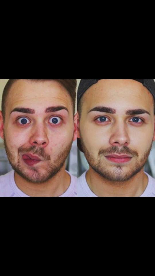 Do you think its ok for guys to wear a little foundation?