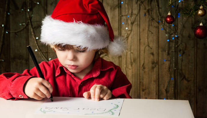 How old is too old to be writing letters to Santa Clause?