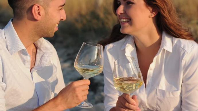 Do you enjoy drinking a glass of wine with your partner sometimes?