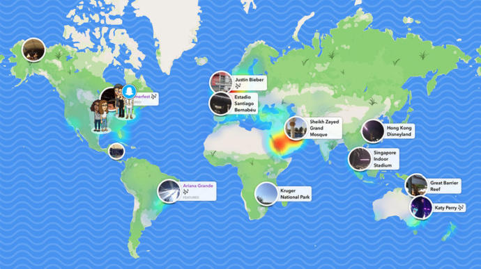 WHO ELSE EXPLORES SNAPCHAT MAP?