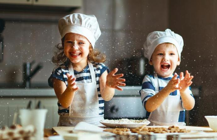Master Chef Junior. This pictures pretty cute. I like that theyre young and not too precocious