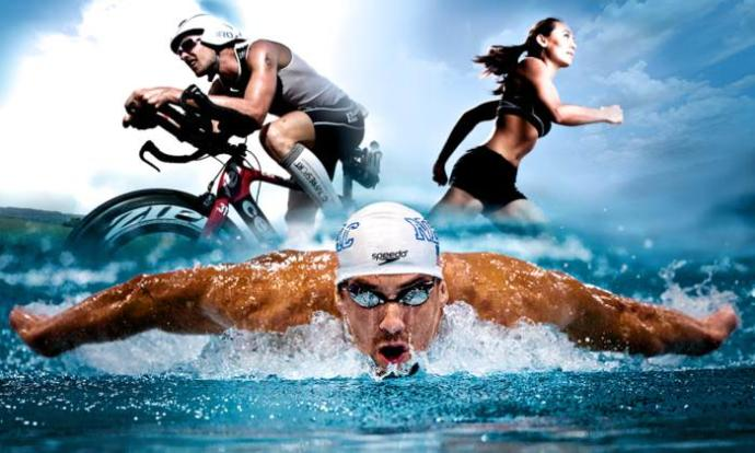 Ironman (ok, not a show, a legit competition of strength and endurance, but its a great image so Im using it)