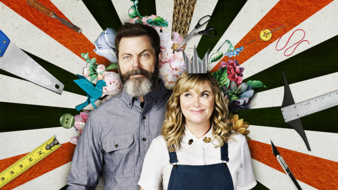 And even a crafting show - Amy Poehler and Nick Offerman hosting 'Making It'