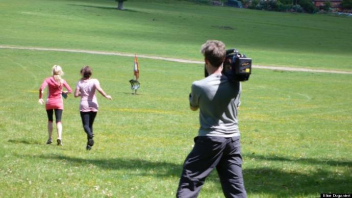 Amazing Race filming