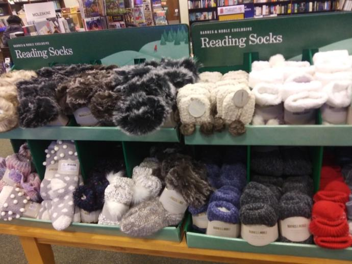 What do you think of the idea reading socks?