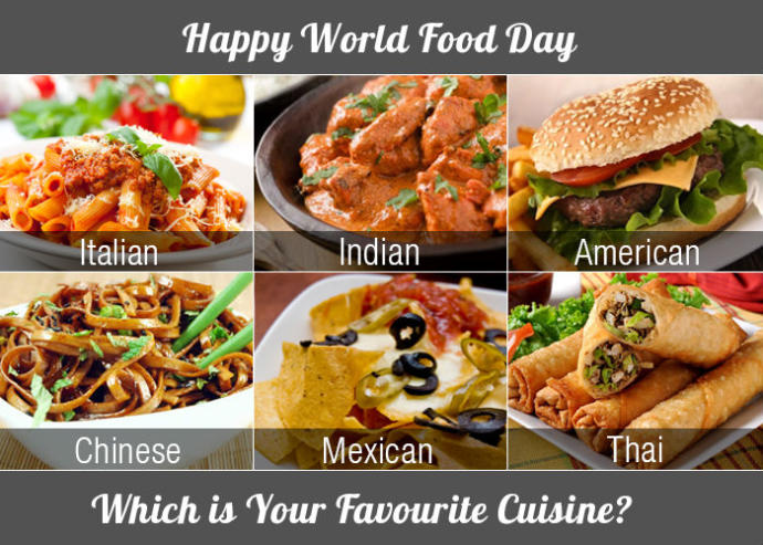 What is your favorite cuisine?