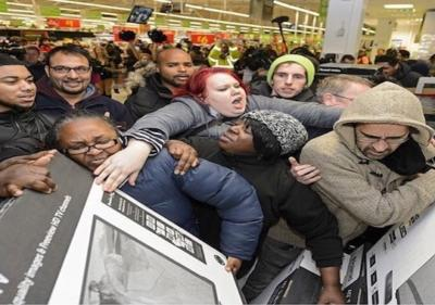 Have You Ever Seen In Person A Crazy Black Friday Fights Girlsaskguys