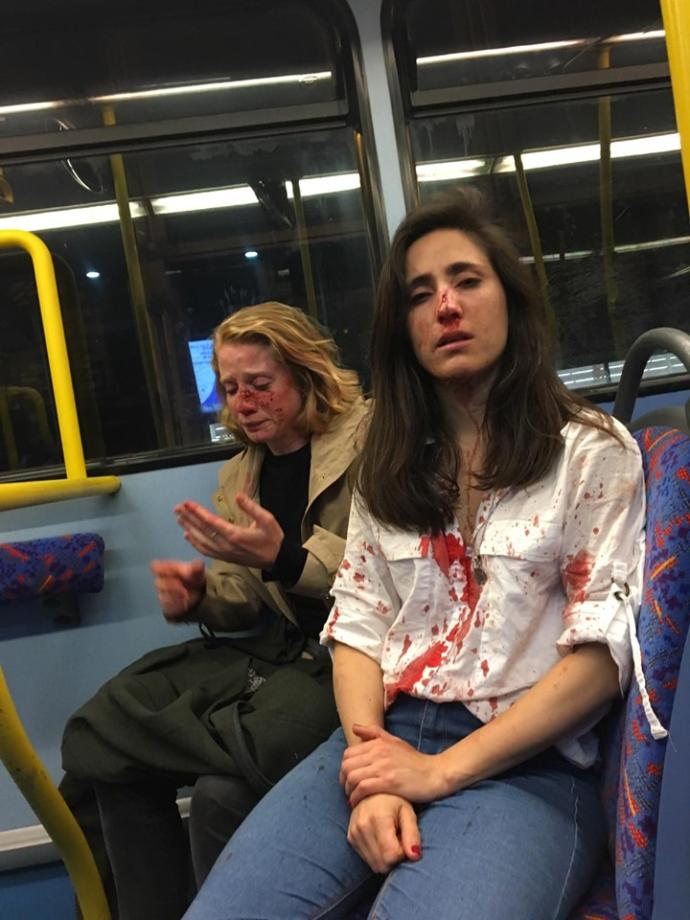 Justice for lesbians assaulted by a gang of Pakistani men on a London bus. Thoughts?