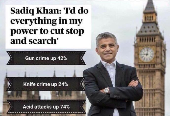 Why does Pakistani crime mayor Sadiq khan blame others for latest attack rather than the Pakistani community for pakistani Usman Khan terror attack?