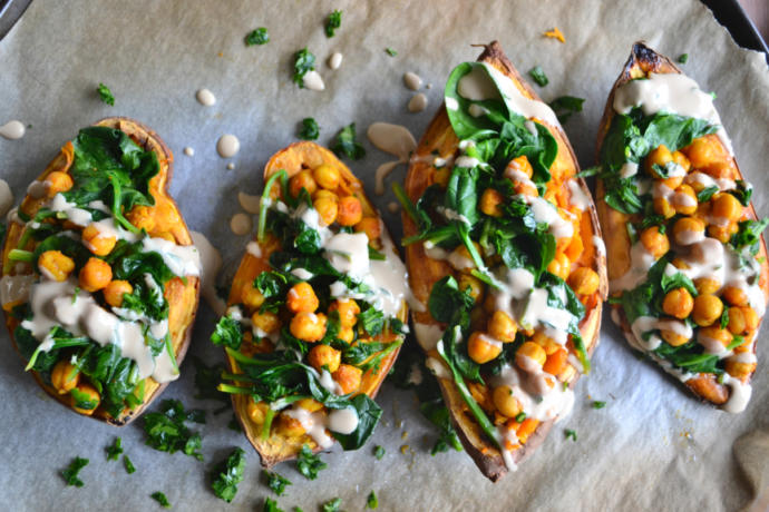 Have you ever eaten stuffed sweet potato?