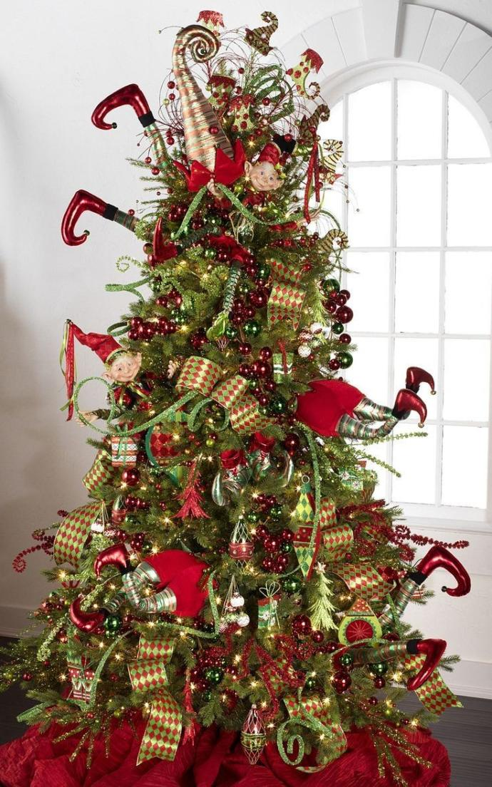 What kind of decoration do you usually put on your Christmas tree?