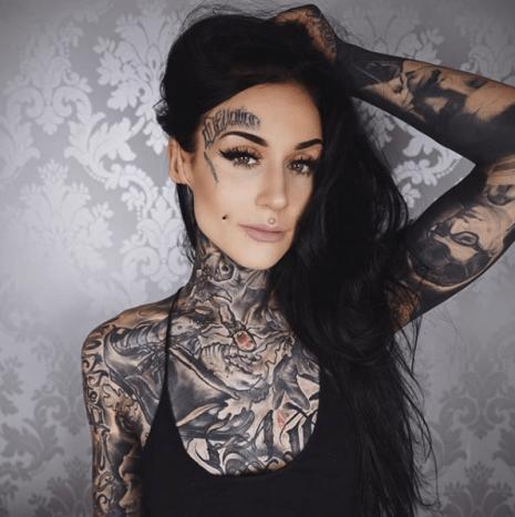 When a beautiful woman covers herself up with tattoos, is it the equivalent of putting bumper stickers all over a Ferrari?