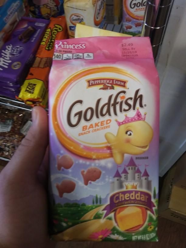 What do you think of princess goldfish crackers?