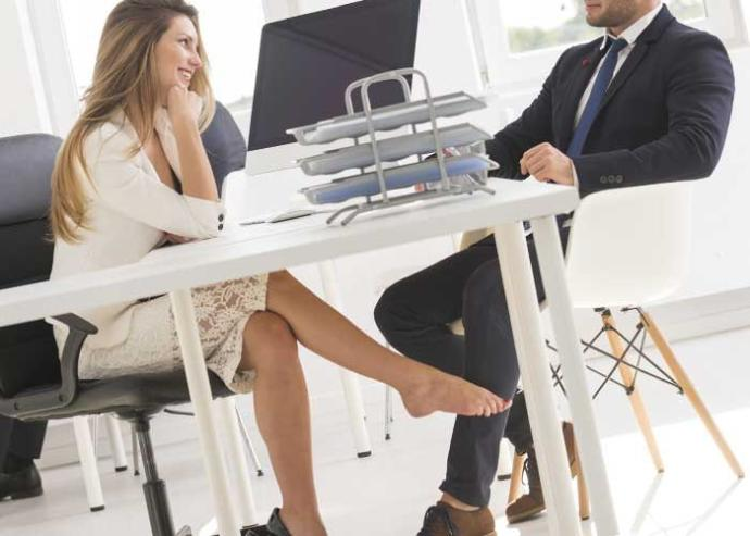 How do you feel if someone flirts with you at work?
