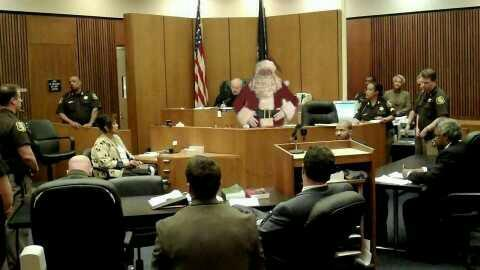 Santa Claus is to be charged with shattering kids dreams. What evidence would you give at his trial?