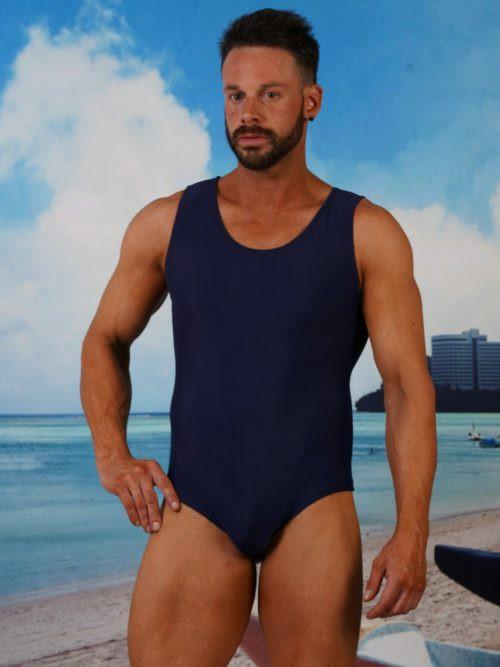 What do you think of the idea of a mens one piece bathing suit?