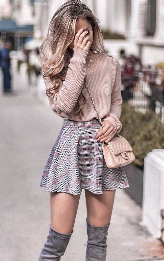 What do you think of this cute and girly style?