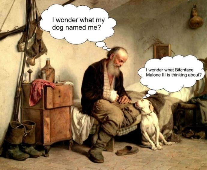 What do you think your dog named you?