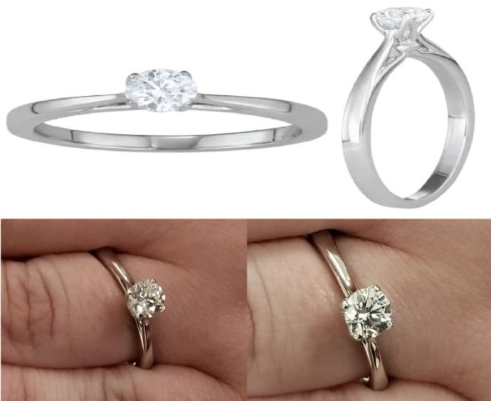 Which Engagement Ring do you think looks better?