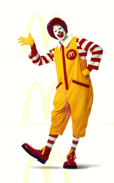 Which of these fast food mascots looks better and why?
