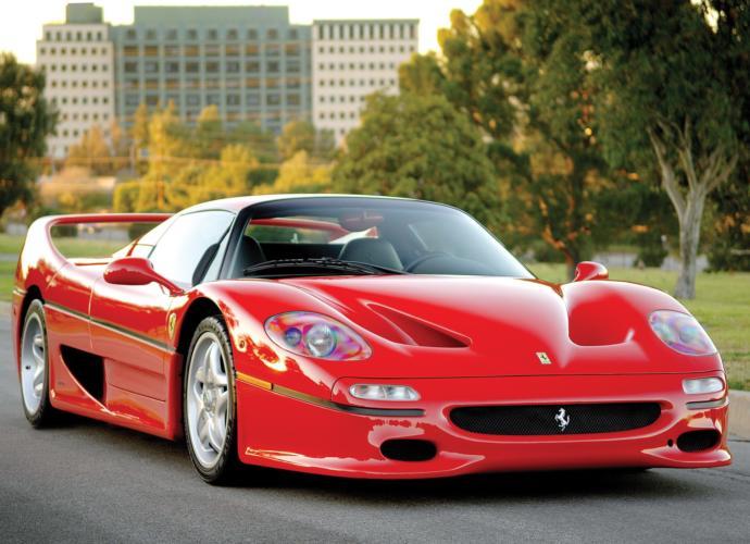 Ferrari F50 Top speed 202 mph