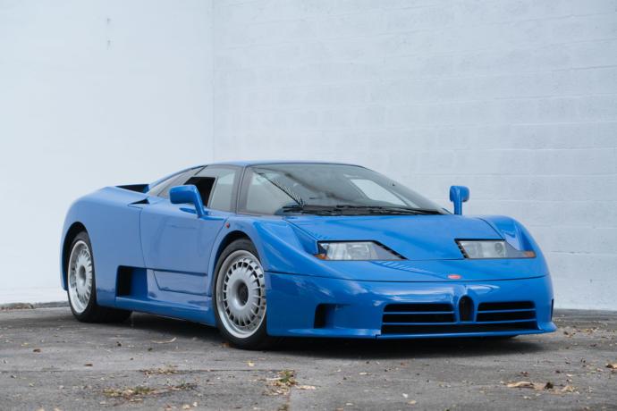 Bugatti EB 110 Top speed 213 mph