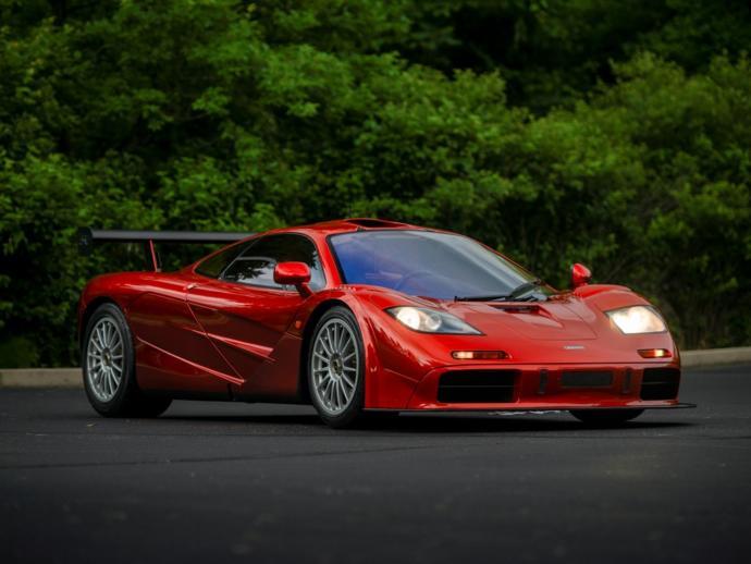 McLaren F1 Top speed 240 mph