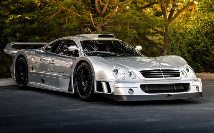 Mercedes-Benz CLK-GTR Top speed 191 mph