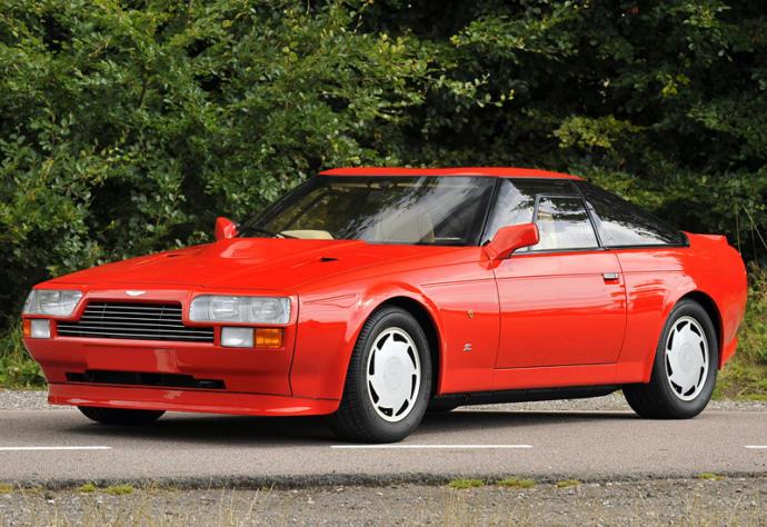Aston Martin V8 Vantage Zagato Top speed: 186 mph