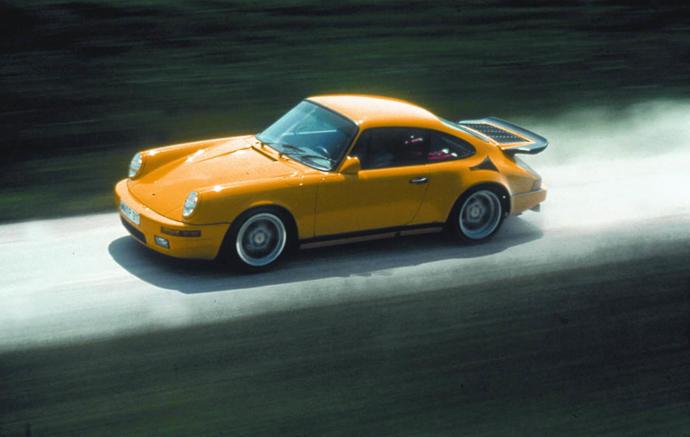 RUF CTR Yellowbird Top speed: 211 mph