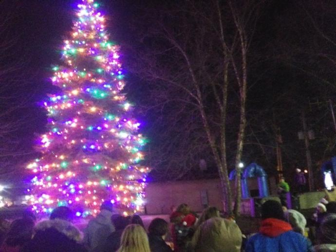 Have you ever been to a Christmas tree lighting before?