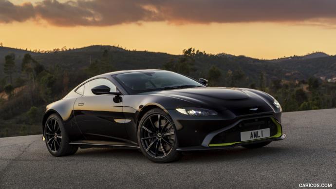 Aston Martin Vantage Top speed 195 mph