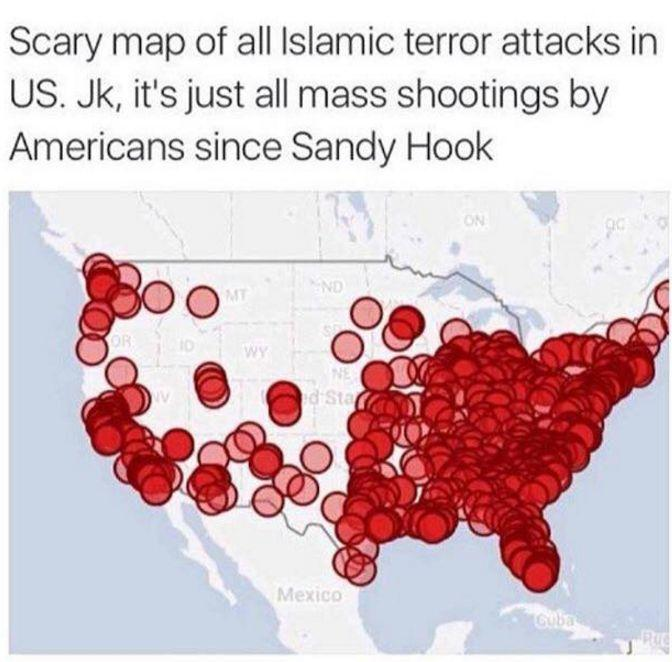 Trumpists, why do you consider mass shooters with political agendas who happen to be white males as NOT being terrorists?