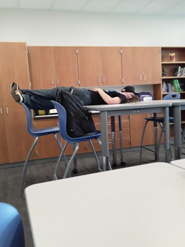 Do you often sleep in class?