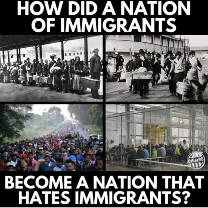 Do you agree with my view on immigration?