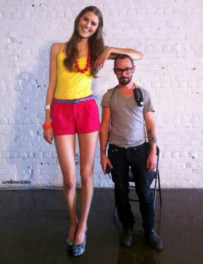 Girls, would you have the courage to ask out a guy shorter than you?