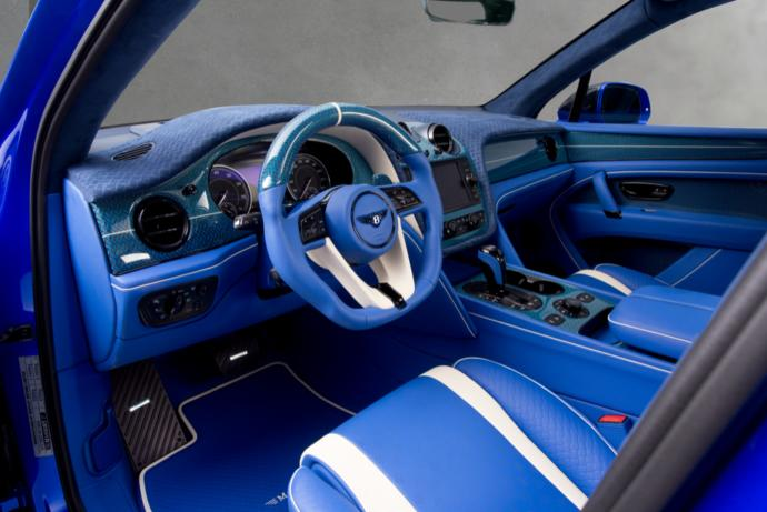 MANSORY Bentley Bentayga Bleurion Edition