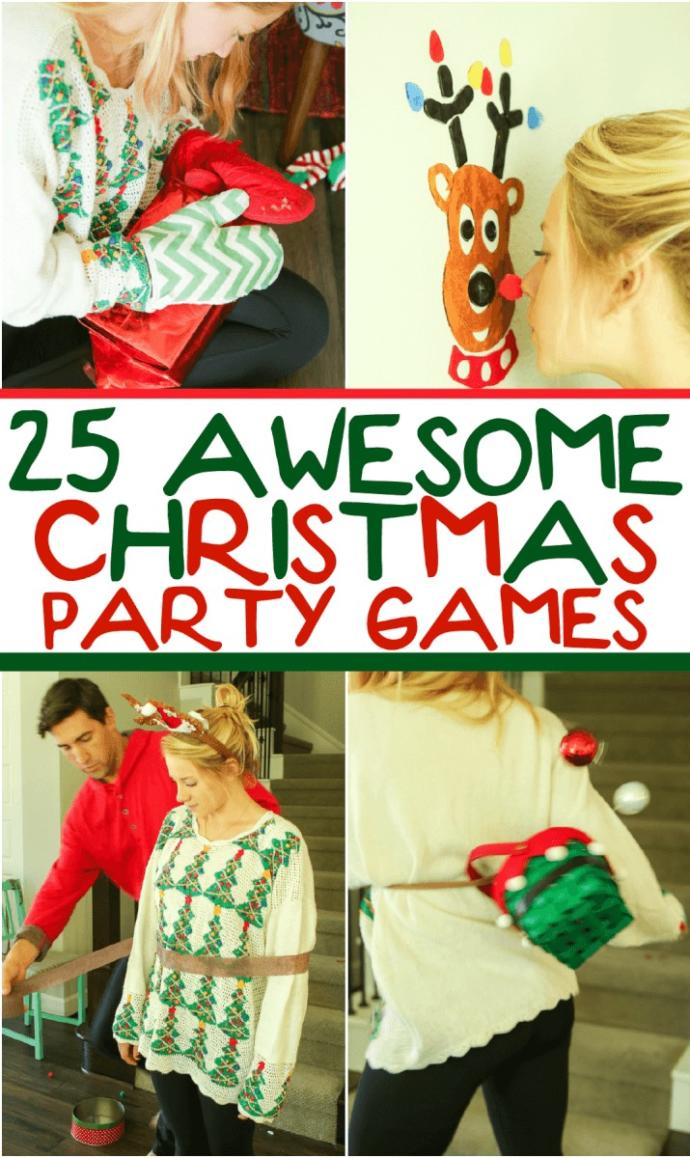 Can you think of any fun Christmas games or have you done any?