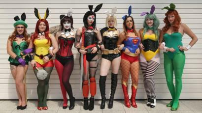 Girls, why would you go to comic con, because you really like what they have there, for the attention or because you want to attract boys?