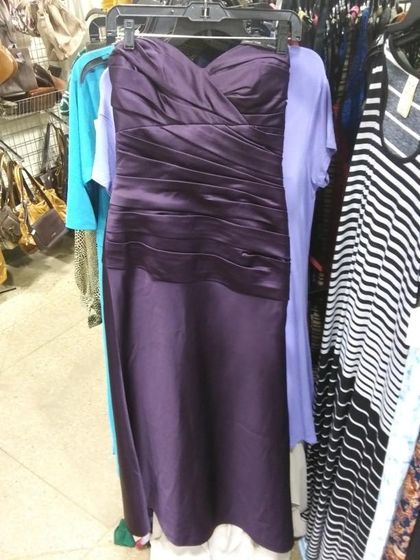 Which dress from Goodwill do you find the most interesting?
