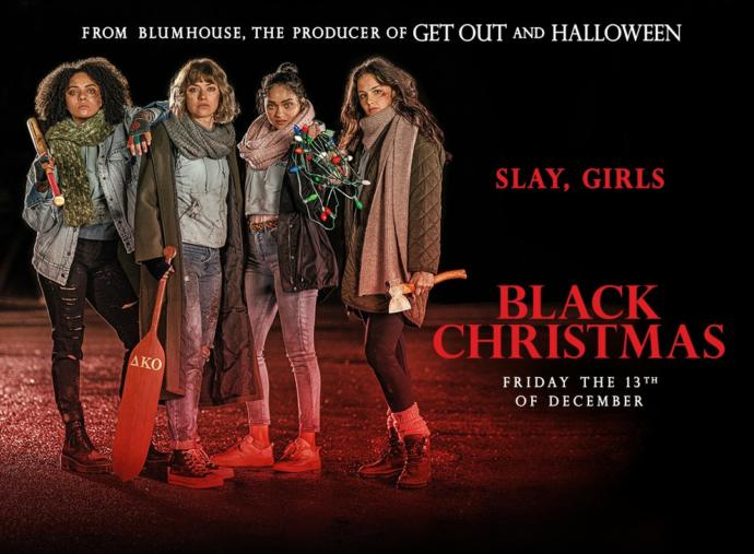 Is anyone going to see black Christmas today or this weekend?