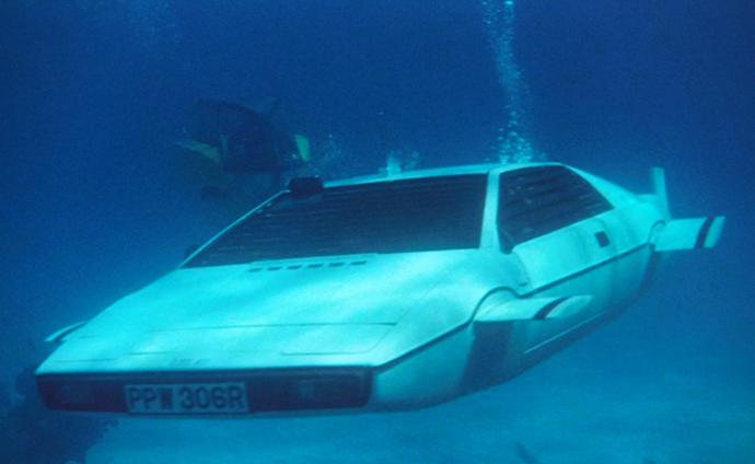 1976 Lotus Esprit Series I, The Spy Who Loved Me