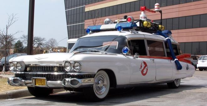 Ectomobile, 1959 Cadillac Miller-Meteor, Ghostbusters 1 and 2