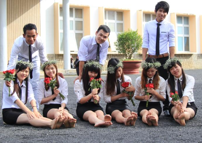 Sexist photo tradition of my school for girls?