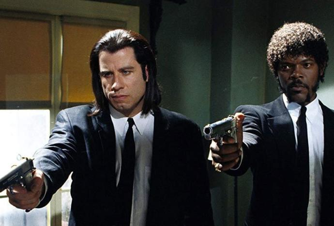 In the movie Pulp Fiction, the gangster character Jules is forced to reconsider the profound meaning of the Bible verse. What does it mean to you?