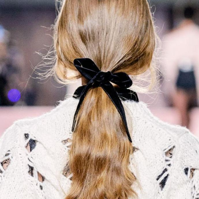 Men, what do you think of a small ribbon in a woman's hair?