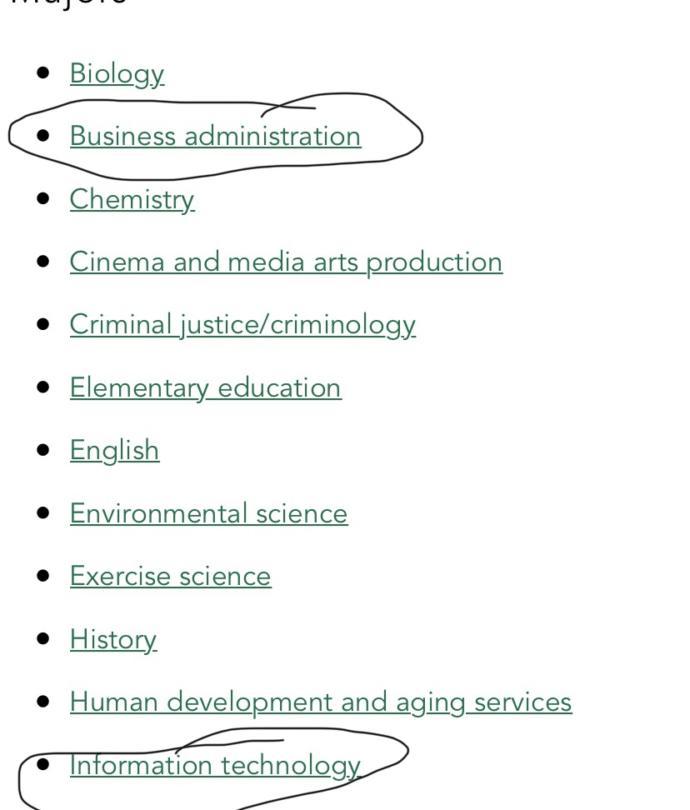I really need help which major should I choose?