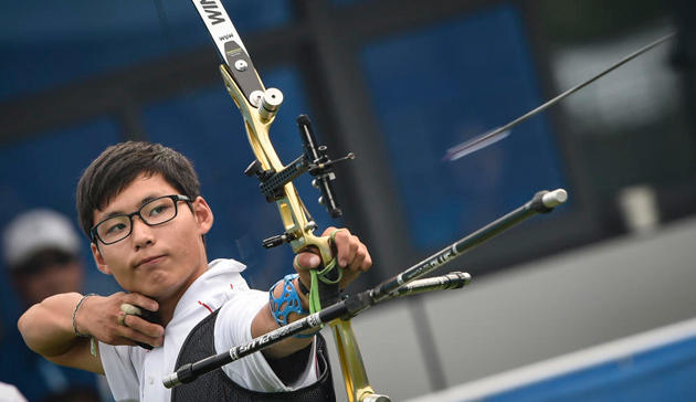 Is archery a big sport where you come from?